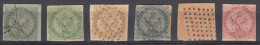 Colonies General Issues 1859 Yvert#1-6 Used