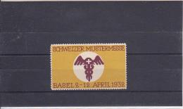 Reklamemarke Schweizer Mustermesse Basel 1932 (369) - Erinnophilie