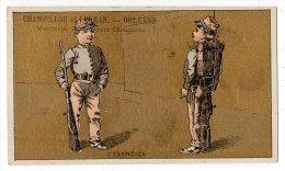 Chromo Mercerie, Bonneterie, Chemises, Champillou & Leoman, Orléans : L'exercice ( Soldats, Fusil ) - Autres