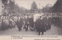 """Wijneghem Wijnegem Begrafenis Karel Verbist 4 """"Het Lijk Wordt In De Kerk Gedragen"""" Funeral Cyclist Cyclisme Cycling - Wijnegem"""