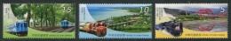 TAIWAN 2015 - Trains, Paysages - 3 Val Neuf // Mnh - 1945-... République De Chine