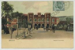 (Brescia) Stazione Ferroviaria. Gare. - Brescia