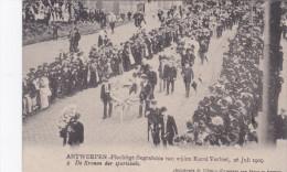 """Antwerpen Begrafenis Karel Verbist 2 """"De Kronen Der Sportclubs"""" Funeral Cyclist Cyclisme Cycling 1909 Wielrenner - Wijnegem"""