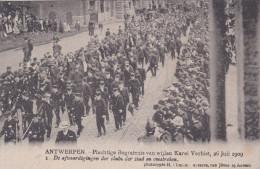 "Wijneghem Wijnegem Begrafenis Karel Verbist 1 ""De Afgevaardigingen Der Clubs Der Stad"" Funeral Cyclist Cyclisme Cycling - Wijnegem"