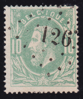 N° 30 - Lp. 126  FLEMALLE - PUNTSTEMPEL - 1869-1883 Léopold II
