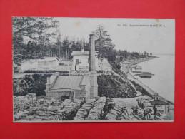 RUSSIA 1905 Baikal, Station OB. Siberia. Russian Postcard - Russia