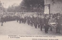 """Wijneghem Wijnegem Begrafenis Karel Verbist 3 """"Op Het Kerkplein"""" Funeral Cyclist Cyclisme Cycling - Wijnegem"""
