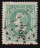 N° 30 - Lp. 328  ST. NICOLAS - PUNTSTEMPEL - 1869-1883 Léopold II