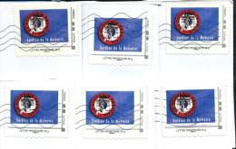 Montimbramoi Le Souvenir Français - Lettre Prioritaire 20g - Lot De 6 Timbres Sur Enveloppes - Personalisiert (MonTimbraMoi)