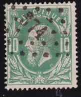 N° 30 - Lp. 374  VERVIERS - PUNTSTEMPEL - 1869-1883 Léopold II