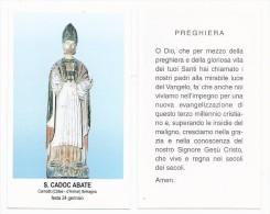 San Cadoc Abate - Carnoèt - Còtes - D´Armor - Sc1 - M8 - Images Religieuses