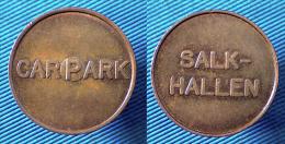 00118 GETTONE TOKEN JETON SWEDEN PARCHEGGIO PARKING CAR PAR SALK-ALLEN - Jetons En Medailles