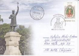 2011 , MOLDOVA , MOLDAVIE , MOLDAWIEN , MOLDAU , Remembrance Day Of The King Stefan Cel Mare  ; Special Cancell. - Moldova