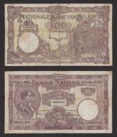 BELGIO - 100 Franchi - 1925 - [ 2] 1831-... : Regno Del Belgio
