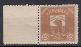 Russia Occupation Finland, Karelia Karjala Karelien 1922 Mi#4 Mint Hinged