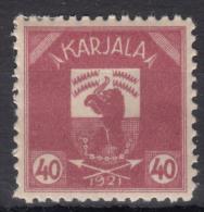 Russia Occupation Finland, Karelia Karjala Karelien 1922 Mi#5 Mint Hinged