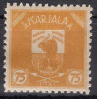 Russia Occupation Finland, Karelia Karjala Karelien 1922 Mi#7 Mint Hinged