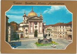 O2165 Torino - Basilica Di Santa Maria Ausiliatrice - Auto Cars Voitures / Non Viaggiata - Churches
