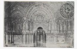 BORDEAUX EN 1905 - N° 20 - PORTAIL DE L' EGLISE ST SEURIN - BEAU CACHET - CPA VOYAGEE - Bordeaux