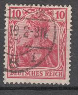 Deutsches Reich -  Mi. 86 I (o) - Usati