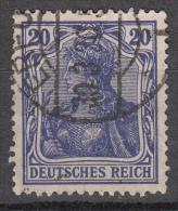 Deutsches Reich -  Mi. 87 I (o) - Usati