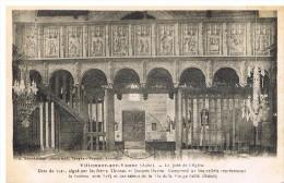 Villemaur Sur Vanne : Le Jubé De L'église - France