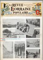 LA REVUE LORRAINE POPULAIRE N° 5 Juillet 1975 - Turismo E Regioni