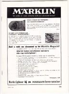 ´MÄRKLIN'  Catalogus - Maart 1968 - Catalogi