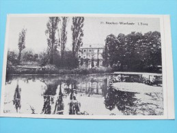 """Stocket-Warfusée L'Etang ( 23 ) 75e Anniversaire """" L'Union """" 1908 - 1983 ( Sticker / Zie Foto's Voor Details ) !!"""