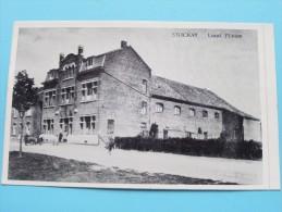 """Stocket-Warfusée Local L'Union () 75e Anniversaire """" L´Union """" 1908 - 1983 ( Sticker / Zie Foto´s Voor Details ) !!"""