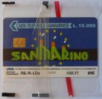 SAN MARINO - Chip - 10.000L - Europa Card Show '98 - Mint Blister - San Marino