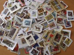 LOT 1 KILO  EIRE IRLANDE MISSIONS SUR FRAGMENTS - Briefmarken