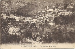 06 LANTOSQUE - VALLEE DE LA VESUBIE - DIVERS FL  91 VUE GENERALE  TBE - Lantosque