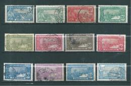 Colonie Timbre De Guadeloupe De 1922/27   N°77 A 88 Complet   Oblitéré - Guadeloupe (1884-1947)
