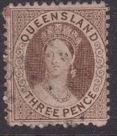 Queensland 1868 P.12 SG 77 £190 Used - 1860-1909 Queensland