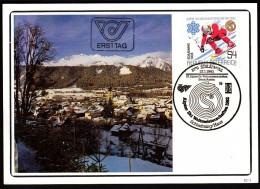 Austria Schladming 1982 Alpine Skiing World Championship 1982 Schladming - Haus Cancel No. 19 - Sci