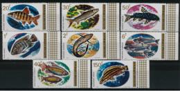 *B3* -  RWANDA 1973 - Pesci Diversi -  8 Val.  MNH** - Perfetti - 1970-79: Mint/hinged