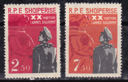 Albanie 1963 N°Y.T. :  614 Et 615 * - Albania