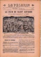 LE PELERIN 24 Décembre 1899 Les Nouveaux évêques Mgr Henry Grenoble, De Carsalade Du Pont Perpignan, Francqueville Rodez - Livres, BD, Revues