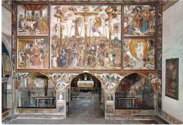 CARAVAGGIO ORATORIO DI SAN BERNARDINO CICLO DELLA PASSIONE AFFRESCO DI FERMO STELLA - Bergamo
