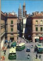 < Automobile Auto Voiture Car >> Bus Autobus, Citroen DS, Scooter Vespa, Toulouse - Bus & Autocars