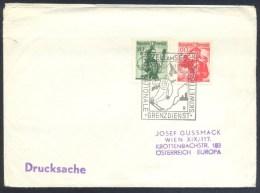 Austria Österreich 1960 Cover: Alpine  Skiing; Ski Alpin Sci Alpino; Internationale Grenzdienst Skiwettkämpfe Border Ser - Ski