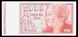 Chile 5000 Pesos 2004 UNC - Chile