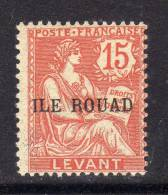 Rouad N° 12 X  30 C.  Violet-brun   Trace Charnière Sinon TB