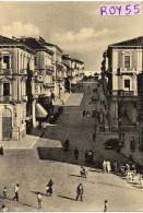 Abruzzo-chieti-lanciano Corso Trento E Trieste Veduta Particolare Animatissima Anni 50 - Italie