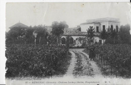 33 - Gironde - Mérignac - Château Luchey (Meller,Propriétaire) - CPA - Merignac