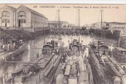 Cherbourg,l Arsenal,torpilleurs - Cherbourg