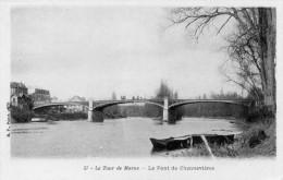 CPA LE TOUR DE MARNE - LE PONT DE CHENNEVIERES - Unclassified