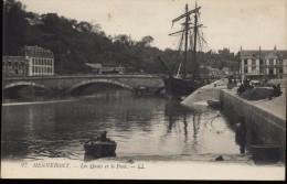 CPA - 56 - Morbihan - Hennebont - Les Quais Et Le Pont - Hennebont