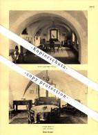 Photographien / Ansichten , 1937 , Ebnat-Kappel , Haus Felsenstein , Prospekt , Fotos , Architektur !!! - SG St. Gallen